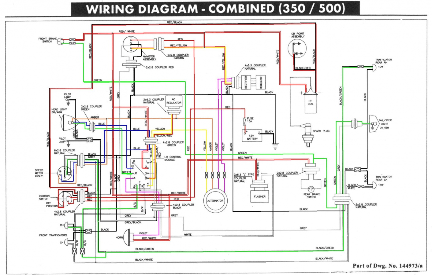 350 engine wiring diagram